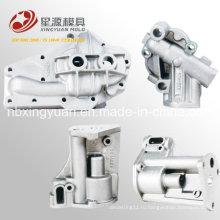 Китайский экспорт высококачественного первоклассного тонко обработанного алюминиевого автомобильного литья под давлением масляного клапана