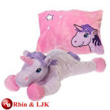 Conozca EN71 y ASTM estándar ICTI peluche de juguete de peluche peluche peluche juguete unicornio