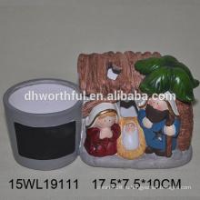 Персонализированный керамический плантатор, керамическая цветочная плантация, керамические цветочные горшки для оптовой продажи