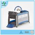 Складная алюминиевая детская кроватка с высокой москитной сеткой (SH-A1)