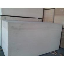 MDF de color blanco con alta calidad