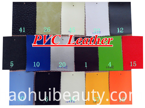 PVC leather
