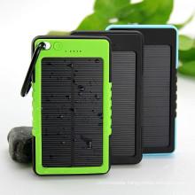 Waterproof Solar Charger 12000mAh Power Bank Backup Battery