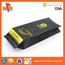 Chinese laminated plastic customized printing aluminum foil coffee bag wholesale 250g