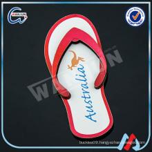guangdong profession 2d flip flop fridge magnet