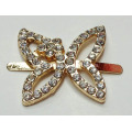 2.8cm Butterfly Buckles with Rhinestone