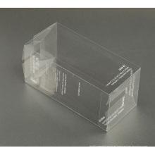 caja de embalaje plástica de encargo de la impresión PVC / PP / PET de seda (paquete del regalo)
