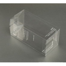 impression en soie personnalisée en plastique PVC / PP / PET emballage boîte (paquet cadeau)