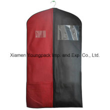 Custom Two Tone Non-Woven Promotional Suit Cover Bag