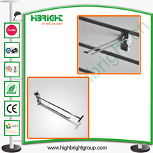 Supermercado Chromed Double Wire Display Hook
