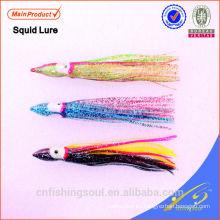 Señuelo de la falda suave del señuelo de la pesca del plástico suave SLL070