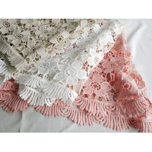 Fancy Polyester Chemical Lace cho phụ nữ ăn mặc