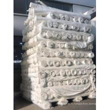 tissu polyester gris pour teint ou imprimé