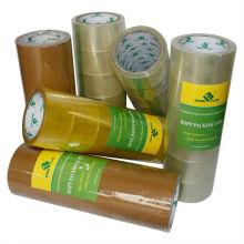 Коробка бесплатные образцы желтовато упаковки клейкой ленты bopp