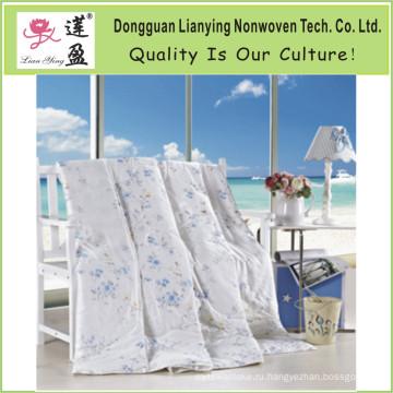 Натуральный комфорт Легкий вес 100% чистого шелкового утешителя с хлопковым покрытием (NS001)