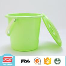 Europäische Art Reinigungswerkzeug 5L großer Plastikwassereimer mit Abdeckung