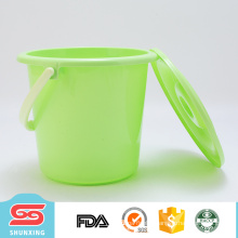 European type cleaning tool 5L large plastic water bucket with cover