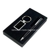 Business-Werbegeschenk-Set mit Schlüsselanhänger und Stift