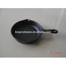 kitchen round mini cast iron skillet/fry pan