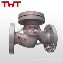La brida termina la válvula de retención de marcha atrás / la válvula de retención de alta presión