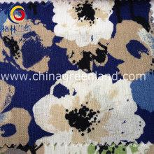 Cotton Flower Linen Fabric for Woman Garment Textile (GLLML102)