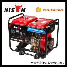 BISON CHINA Taizhou 2kw Open Type Strong Frame Escorts Diesel Generator Sets