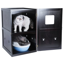 Double-Decker Pet House Litter Box