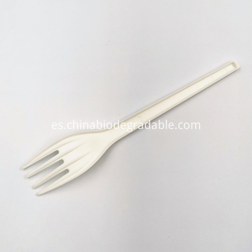 100% Biodegradable Plant-based Natural Safe Cutlery Forks
