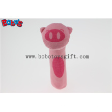 """5.5 """"Lustige Design gefüllte rosa Schwein Tier Plüsch Stick Spielzeug Bosw1040"""