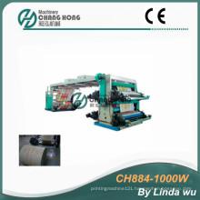4 Colors PP Woven Bag Flexo Printing Machine (CH884-1000W)