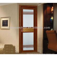 Aluminium-Glastür, 48-Zoll-Zimmertür, moderne, vorbeifahrende Innentüren