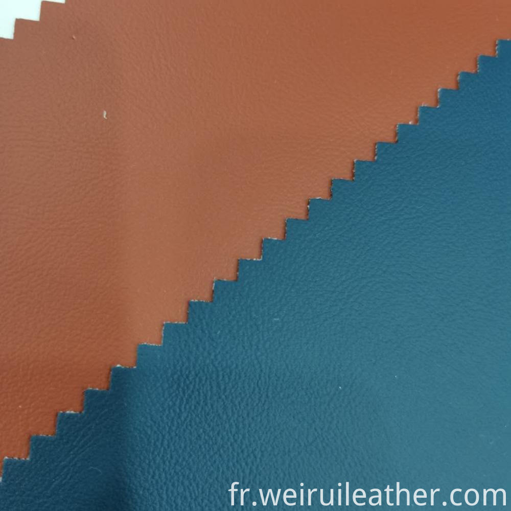 Not Easy To Crack Pvc Leather