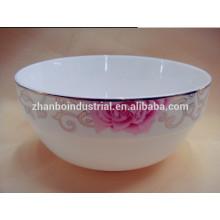 Nuevos tazones de fuente de China de hueso con diseños coloridos