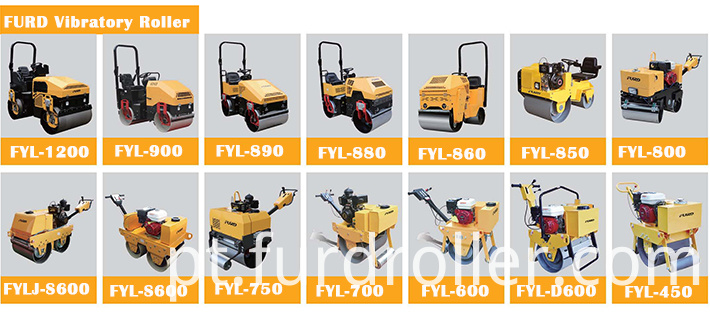 Vibratory Road Roller Machine