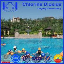 Tableta de dióxido de cloro para piscina