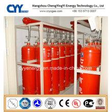 Nahtlose Stahlfeuerbekämpfung CO2-Gasflasche mit verschiedenen Kapazitäten