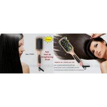 MCH Escova de cabelo iónica Straightening Brush