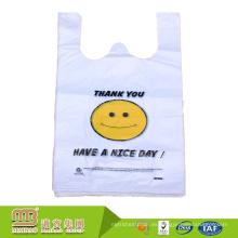 Bolsas plásticas biodegradables al por mayor del portador del chaleco de las compras del Hdpe de la fábrica de Guangzhou Maibao