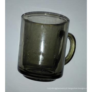 Caneca de vidro com copo de alta qualidade de cor Kb-Hn07175