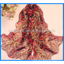Women printed satin neck scarf manufacturer