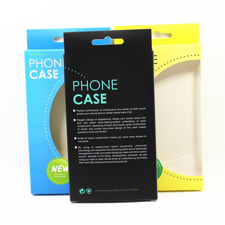 High Quality Custom Phone Case Paper Packaging Box