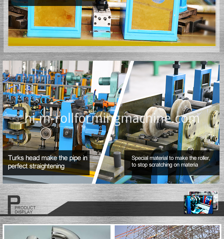 Steel welding pipe rolling machine