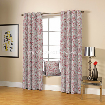 2016 JACQUARD DESIGN OF SOFT TEXTILE WINDOW Fibra de CORTINA