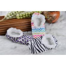 audits indoor sock slipper plush slipper