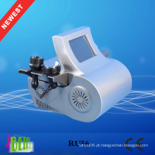 Ultrasonic Cavitation + Vacuum Liposuction + Laser + Bipolar RF + Roller Machine para emagrecimento