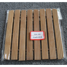 (BC-M1021) Ручной естественной бамбуковой площади теплоизоляции мат