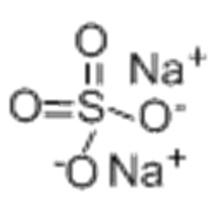 Sulfate de sodium anhydre CAS 7757-82-6