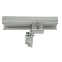 High efficiency 20KW Metal Standing Seam Roof Kliplok Solar clamp kits