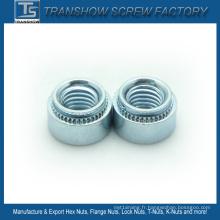 Écrou à auto-cémentation en acier au carbone M2- M12