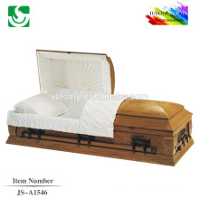 direct sale traditional walnut America casket